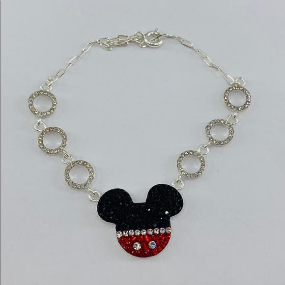 Disney Mickey Mouse bracelet 925 sterling silver